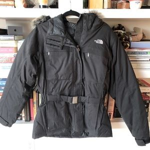 The North Face Short Belted Parka